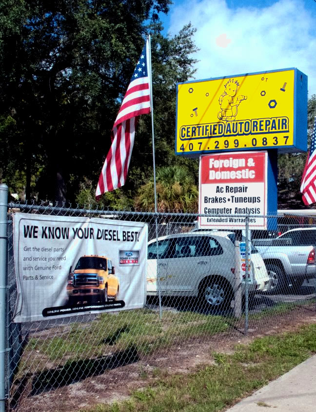 Orlando's Best Certified Auto Repair Mechanic